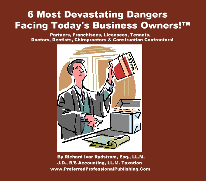 6 Most Dangers Small Business Master  Cover1jpg