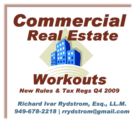 Commercial Workouts Article Rich Rydstrom Debt Mortgages Refis Mods Q4 2009 Ajpg