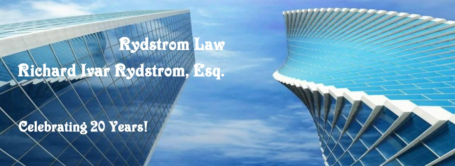 RydstromLaw Civil Business Real Estate Foreclosure Bank Litigation Serious Personal Injury Homeowner Foreclosure Defense Litigation CA UD DefenseVSO ADR Settlement of Disputes Lawsuits Los Angles Orange County San Deigo CA, HAMP denial litigation, trial period mod denial, newport beach, banks, servicers