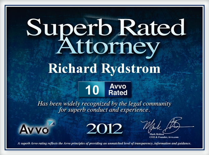 Rydstrom_2012_AVVO_OCMetro_Top_Attorney_Award